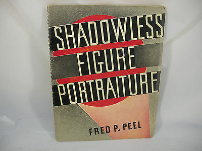 1936 1St Edition Shadowless Figure How To Do Photo Book Nude Pin-Up Photography