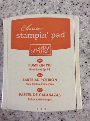 Stampin up ink pad Pumpkin Pie
