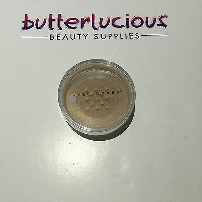 BULK 5 X SHEER COVER  MINERAL Foundation with SPF-15 *BUFF*100 % Authentic 4g