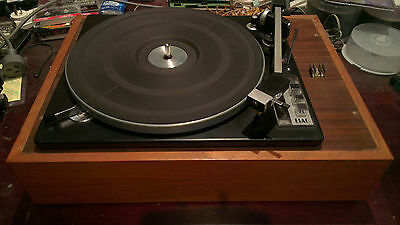 Vintage Elac Miracord 50H transcription turntable record player 4 speed