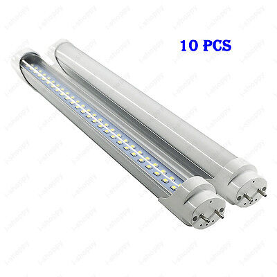10 Pcs 20W Light Tube 108 LEDs T8 Lamp Strip Bulb 2FT/60cm SMD 2835 Wholesale