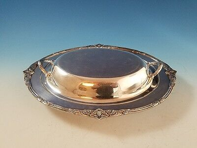 Marquise Silverplate by 1847 Rogers Covered Vegetable Dish