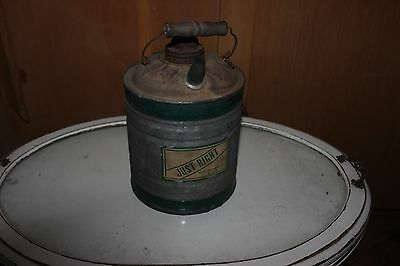 Rare SIMMONS HARDWARE gas or oil can