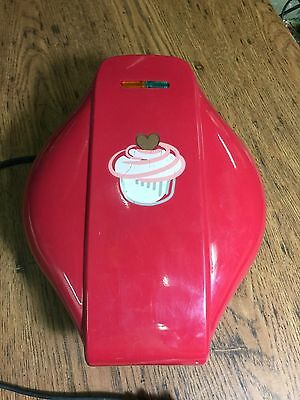 Heart-Shaped Cupcake Maker by Sensio-Used