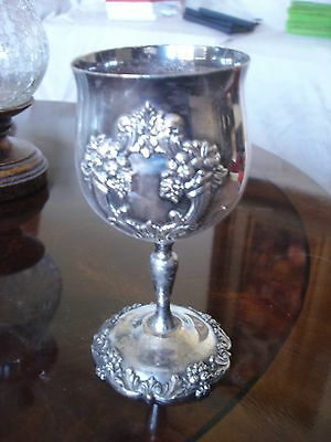 Vintage Reed & Barton 1659 King Francis Water Goblet (silverplate, holloware)