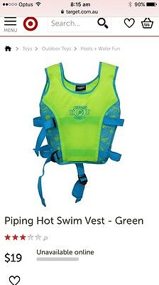 Piping Hot Swimming Vest -new