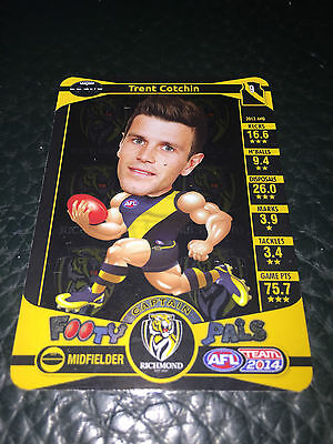 2014 AFL Teamcoach Footy Pals Trent Cotchin