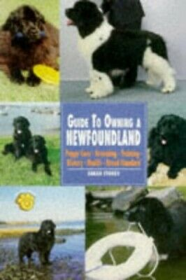 Guide to Owning a Newfoundland (Re-342) by Storey, Sarah Paperback Book The