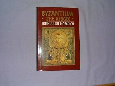 Byzantium: The Apogee by Norwich, John Julius Hardback Book The Cheap Fast Free