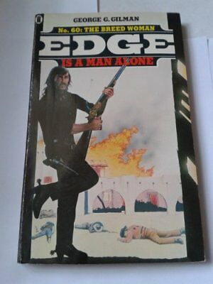 The Breed Woman (Edge), Gilman, George G. Paperback Book The Cheap Fast Free