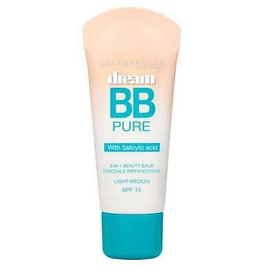 Maybelline Dream Pure BB Cream 30mL - Choose Your Shade