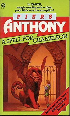 A Spell for Chameleon by Anthony, Piers Paperback Book The Cheap Fast Free Post