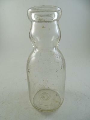 Vintage Advertising Glass Milk Dairy Bottle Cream Top Bartholomay Rochester NY