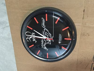 1965 1973  Mustang 30th Anniversary Clock Mustang Monthly Collectors Clock New