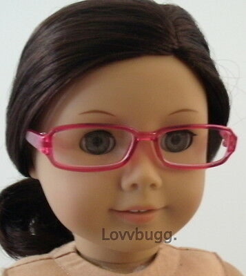"""Pink Eye Glasses for 18"""" American Girl Doll Clothes  Widest Selection Lovvvbugg"""