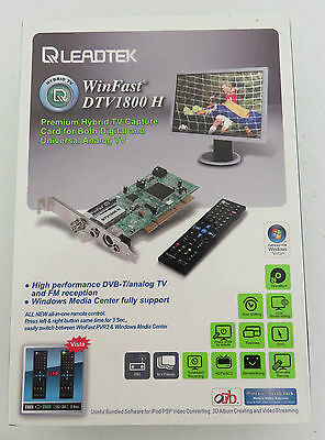 Tv Capture Card Pci Tv Digital Tuner Slightly Used  Exc Condition