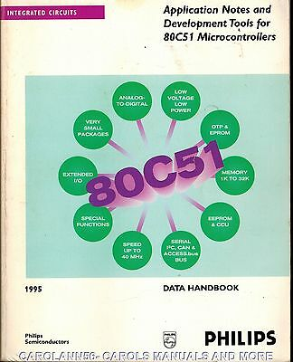 PHILIPS Data Book 1995 Application Notes & Development Tools 80C51 Microcontroll