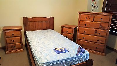 Single Bed Suite with Quality Mattress