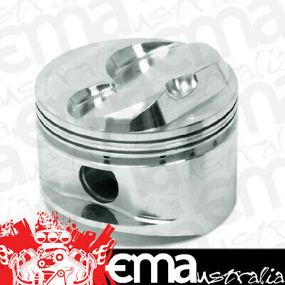 Arias Dome Top Forged Pistons Ap1030050 Suit Chev Sb 350 V8 4.030 Bore 5.700 Rod