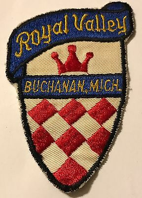 ROYAL VALLEY Lost Area 1958-80s Skiing Ski Patch Buchanan MICHIGAN MI Travel