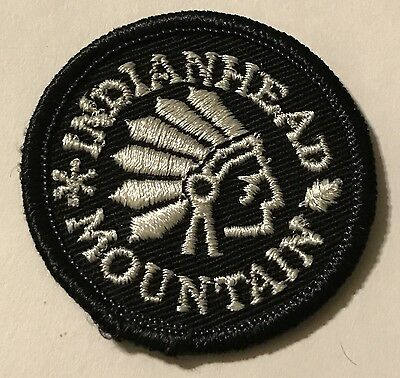INDIANHEAD MOUNTAIN Skiing Patch Wakefield MICHIGAN MI Souvenir Travel MINT