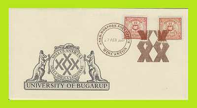 Discworld Stamps Convention Cover - 2009 Nullus Anxietas 2 University Of Bugarup