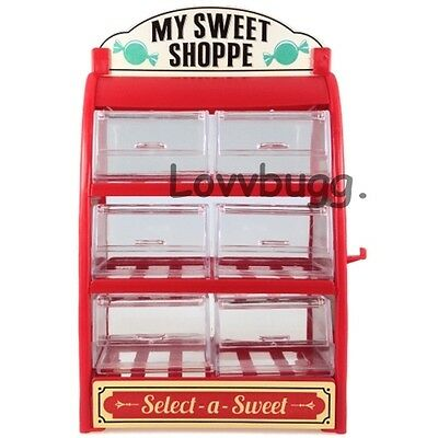 """Sweet Shop to Add to Bakery Doll Furniture for 18"""" American Girl Fun Selection"""