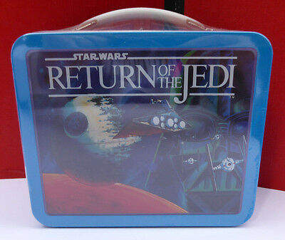 NEW~Hallmark School Days STAR WARS RETURN OF THE JEDI  MINI Lunch Box~ SEALED