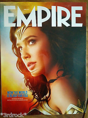 Empire #334 April 2017, Wonder Woman Subscriber Cover, U.k. New.sealed.