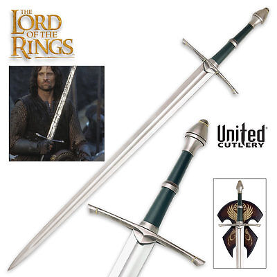 Lord Of The Rings ~ Aragorn Strider Sword SCABBARD UC1366LTNB
