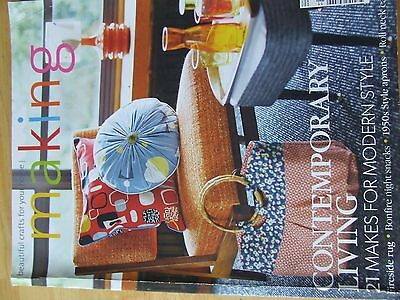 Making Magazine Issue 53 Nov 2014 Contemporary Living Modern Style Aprons Capele