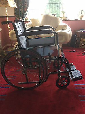 Foldable Mobility Wheelchair