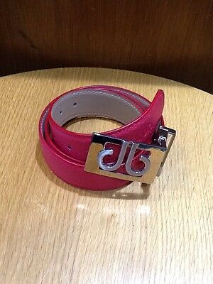 Druh Players Collection Red Leather Belt, NEW  Sold By PGA PRO