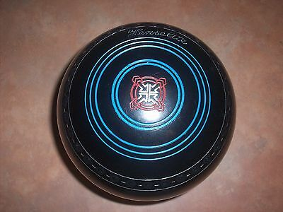 Henselite Super-Grip Lawn Bowls Size 4 Gripped In Great Condition