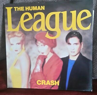The Human League.. Crash.. Original Vinyl Album..1986