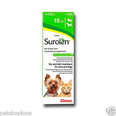 Ear drops for dogs and cats 15ml