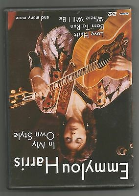 """Emmylou Harris """"in My Own Style"""" Dvd"""