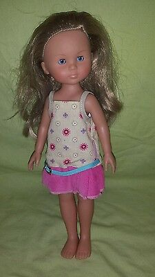"""Corolle 13"""" Girl Doll With Blond Hair (2001  01  J10B)"""