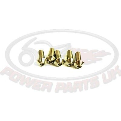 LENS HEAD BUTTON HEAD BOLT KIT JMP M10 x1.25 35MM STAINLESS A4
