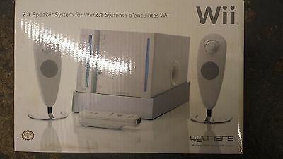 Nintendo Wii style 2.1 PC speaker system with subwoofer