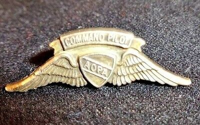 PILOT Wings Pin Sterling Silver Aircraft Owners Association AOPA