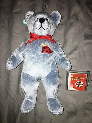 NEW WITH TAGS Original Holy Bears FIREFIGHTER  BEAR from Holy Angel Series