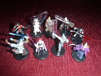 Star Wars miniatures rares/ ultra rares from Legacy of the force, free shipping