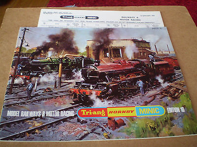 TRIANG/HORNBY/MINIC MODEL RAILWAYS CATALOGUE 1970 16th EDITION +P/LIST EXCELLENT