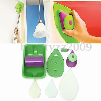Point And Paint Multifunction Pads DIY Painting Kit Roller Set Room Clean Brush