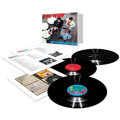 THE WHO 'MY GENERATION' 3 x VINYL LP (2017)