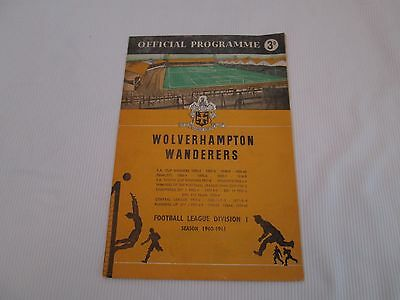 1960-61  CENTRAL LEAGUE RESERVES LEEDS UNITED v WOLVERHAMPTON WANDERERS