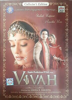 Vivah Shahid Kapoor Amrita Rao Hindi Movie Dvd Region Free