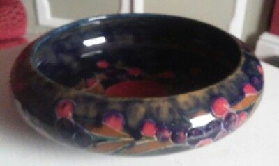 Fantastic early Moorcroft Pomegranate Bowl, signed, great condition