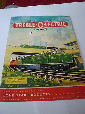 LONE STAR MODEL RAILWAYS CATALOGUE 1960's EDITION EXCELLENT FOR AGE